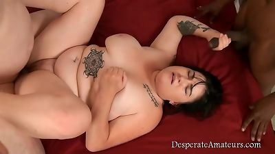 casting compilation plus-size very first time Desperate Amateurs need money