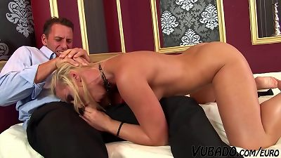 anal invasion sex With The towheaded Step daughter