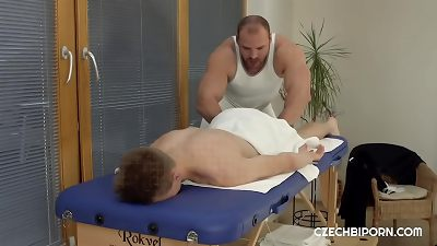 Hot massage ends with sex