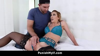 hotwife mom Cherie Deville Wants to pulverize Her youthful Stepson